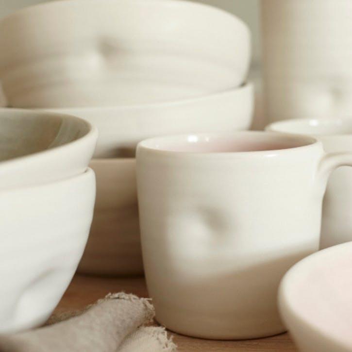 Pinch Mug, Pink