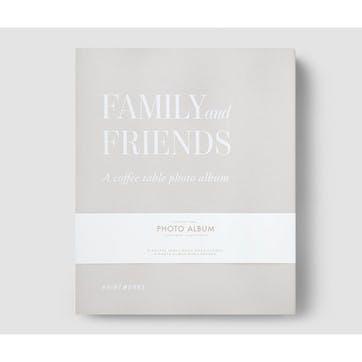 Family & Friends Photo Album, Grey