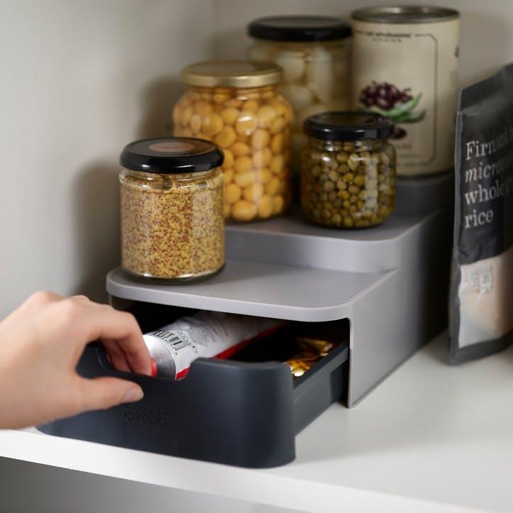 CupboardStore Compact Tiered Organiser