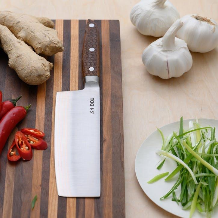 """'Nakiri' (Vegetable) Knife - 6½""""/17cm"""
