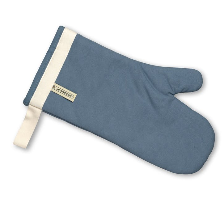 Oven Mitt; Coastal Blue