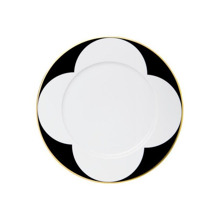 Ca' D'Oro Gold Rimmed Breakfast Plate