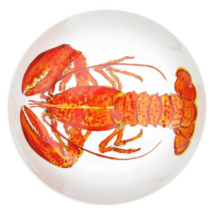 Red Lobster Round Bowl - 28cm