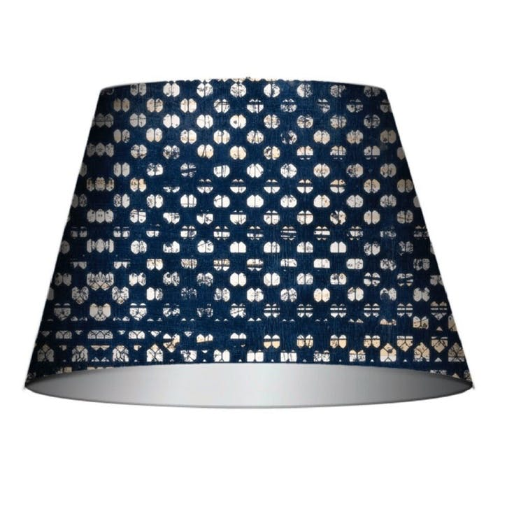 Blauw Cone Lampshade, Medium