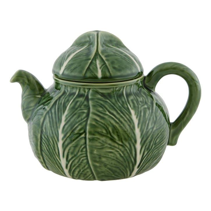 Cabbage Teapot, 2 Litre, Green