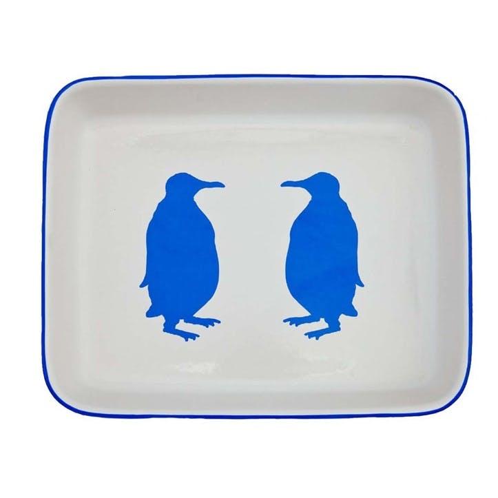 Penguin Oven Dish, Large