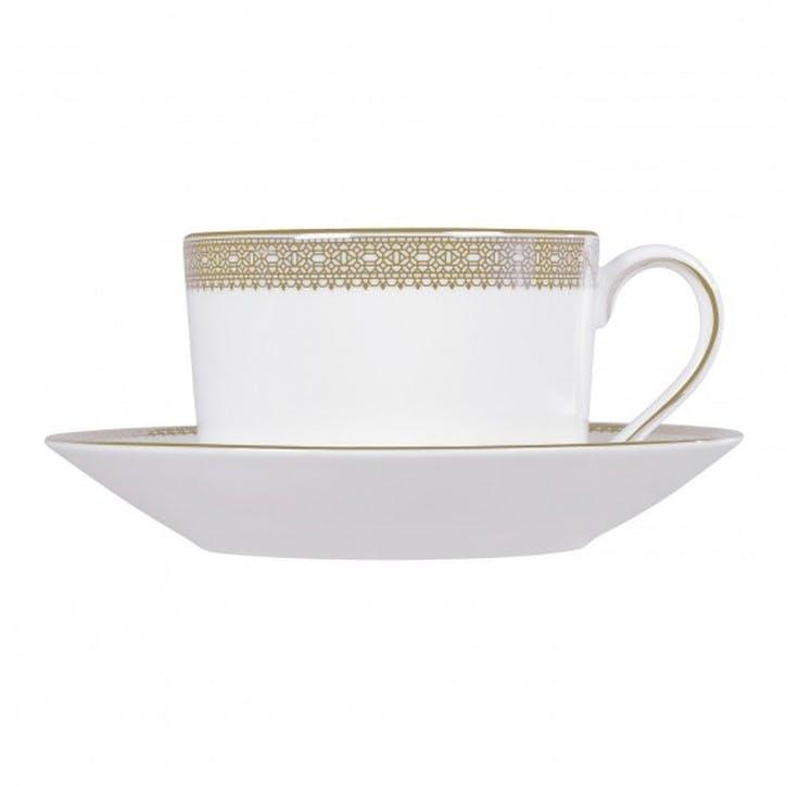 Lace Gold Teacup Saucer
