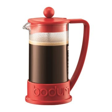 Brazil, 3 Cup Coffee Maker, 35cl, Red