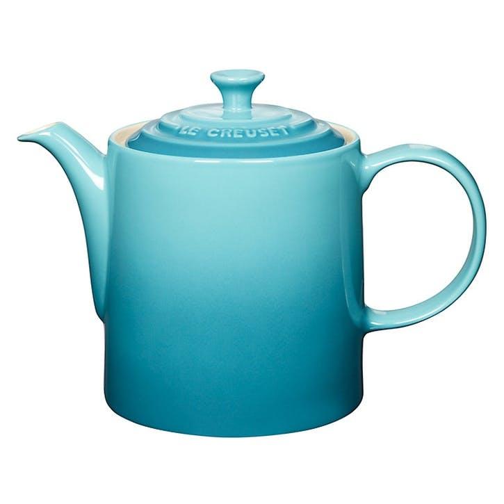 Stoneware Grand Teapot - 1.3L; Teal