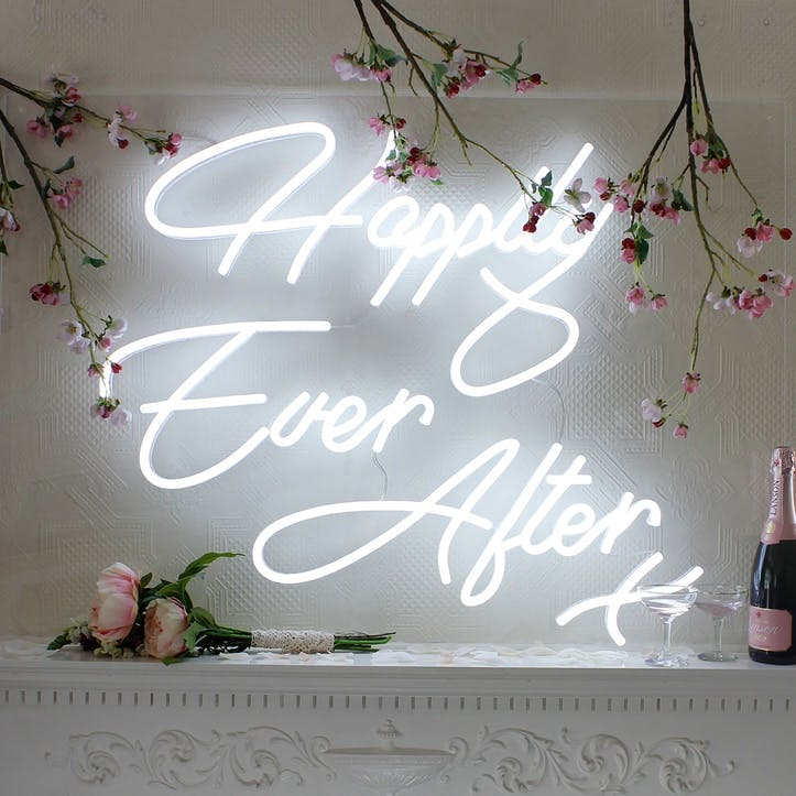 'Happily Ever After' LED Neon Light