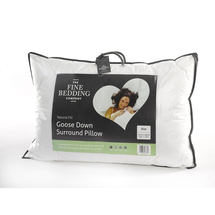 Single Goose Down Surround Pillow