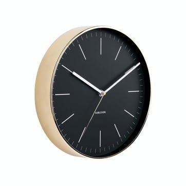 Minimal Wall Clock, Black