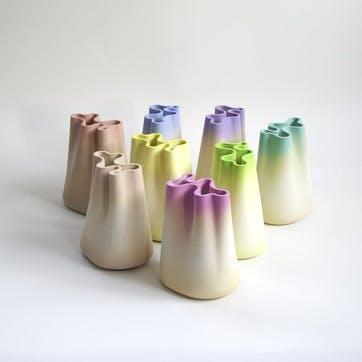 Jumony Small Vase, Lavender