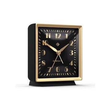 The Skyscraper Alarm Clock, Black and Gold