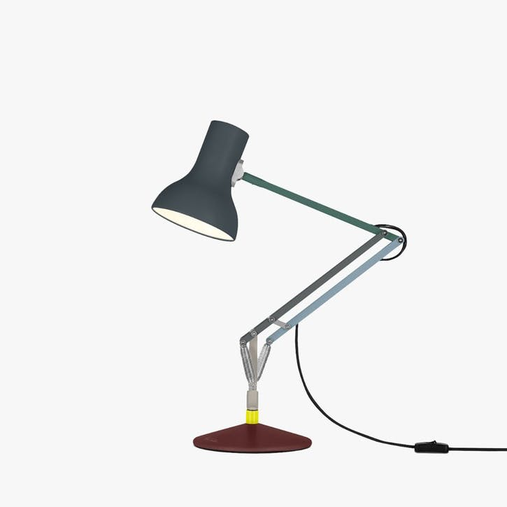 Mini Desk Lamp Multicolours and Black