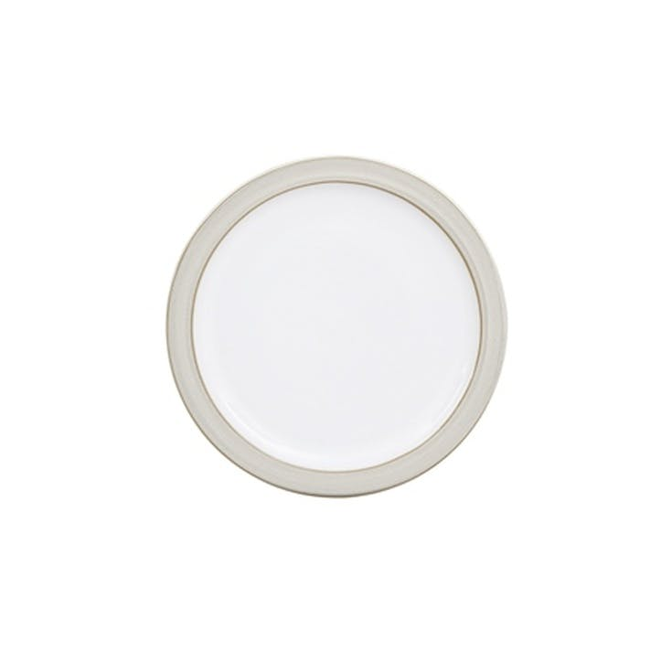 Natural Canvas Small Plate, 19cm, Cream