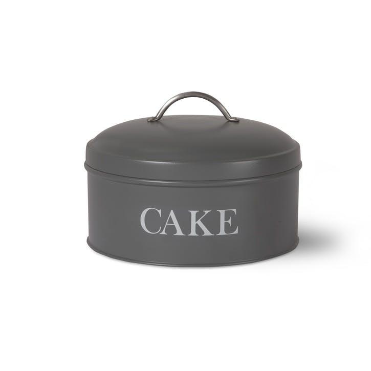 Charcoal Round Cake Tin