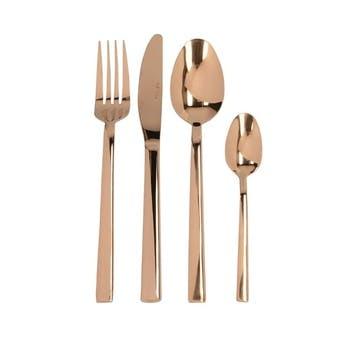 Mikasa Cutlery Set, 16 Piece, Copper