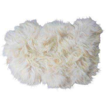 Torshavn Long-Haired Sheepskin, White
