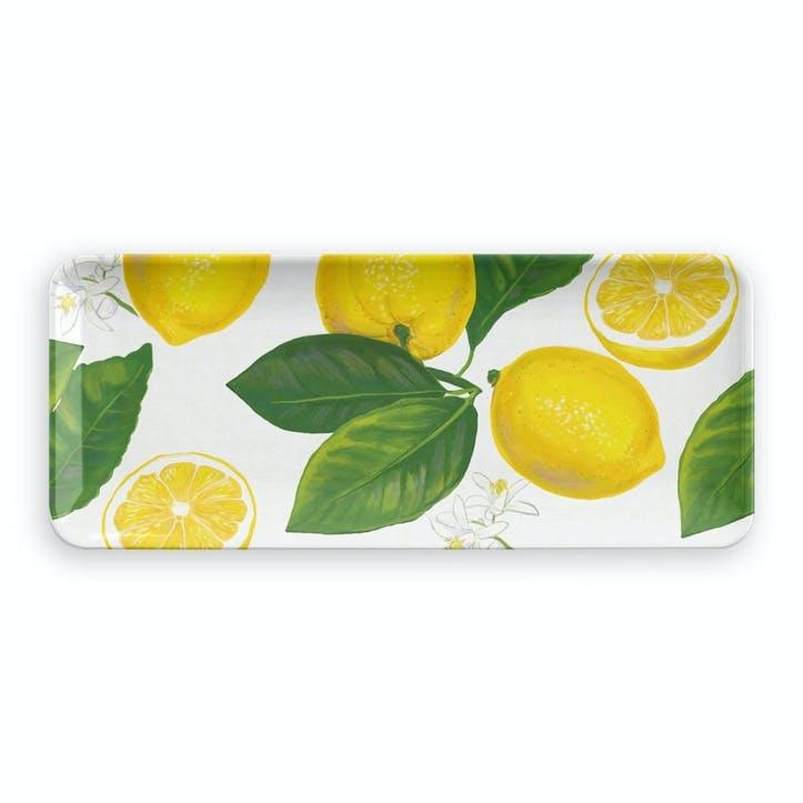 Lemon Fresh Long Serving Platter