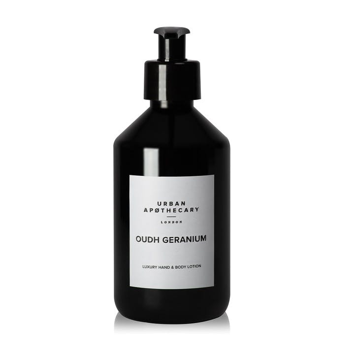 Oudh Geranium Luxury Hand & Body Lotion, 300ml