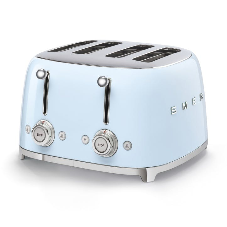 4 By 4 Toaster, Pastel Blue