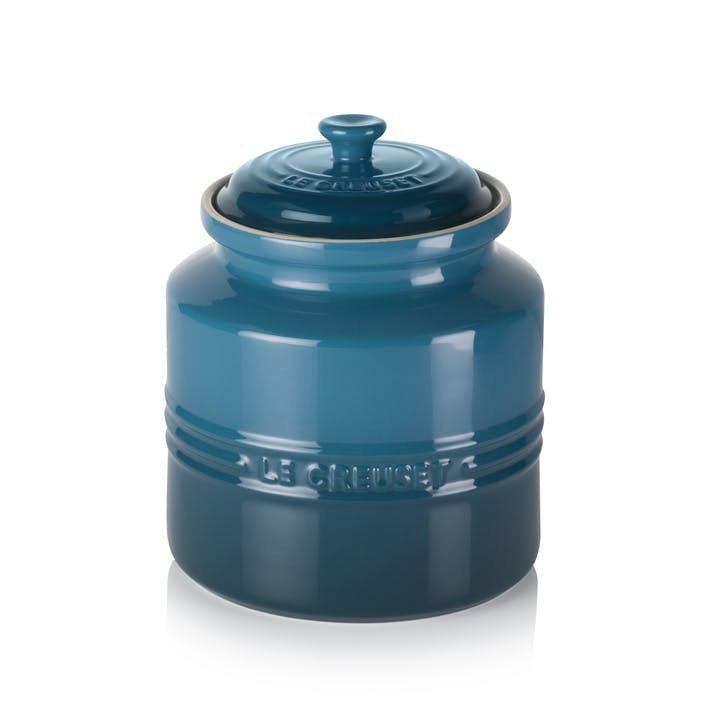 Stoneware Cookie Jar, 2.4L, DeepTeal