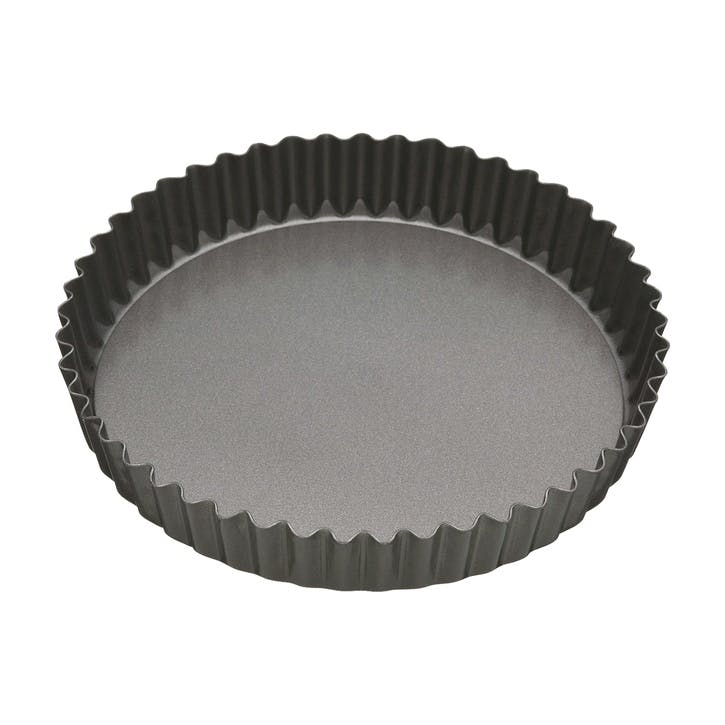 Non-Stick 25cm Loose Base Fluted Quiche Tin