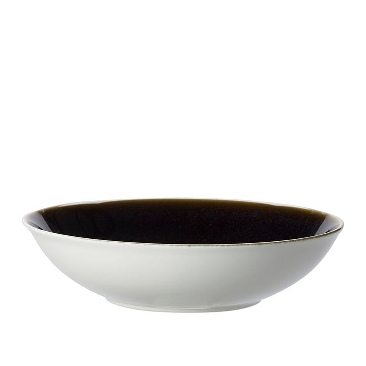 Art Glaze Coupe Serving Bowl - 30cm; Clouded Smoke