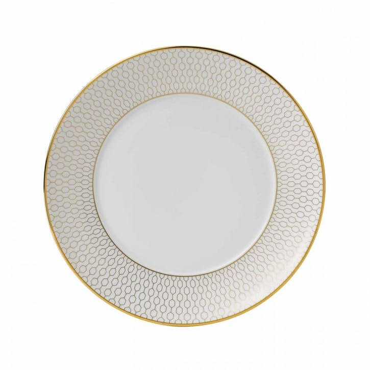 Arris White Side Plate, 17cm