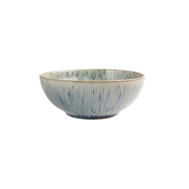 Halo Speckle Coupe Cereal Bowl, 17cm, Blue