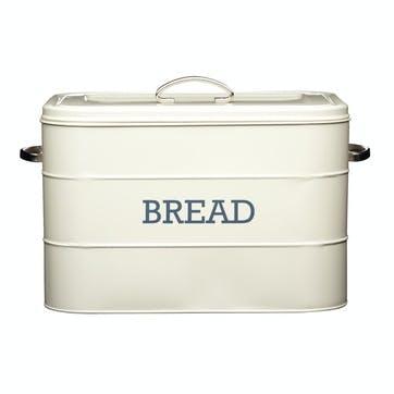 Living Nostalgia Bread Bin in Antique Cream