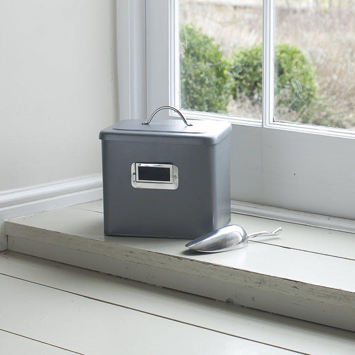 Charcoal Pet Bin - Small