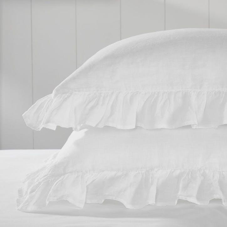 Kara Hemp Linen, Oxford Pillowcase Square
