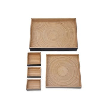 Purbeck Desk Trays, Set of 5