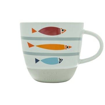 Mug, Fishy Line Up, 330ml