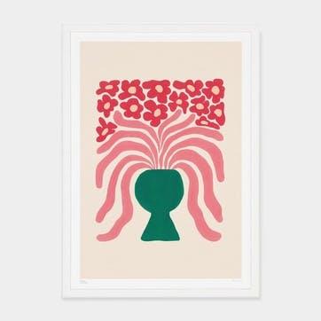 Liv Lee, Loosey Goosey Agapanthus Art Print, Unframed, A2