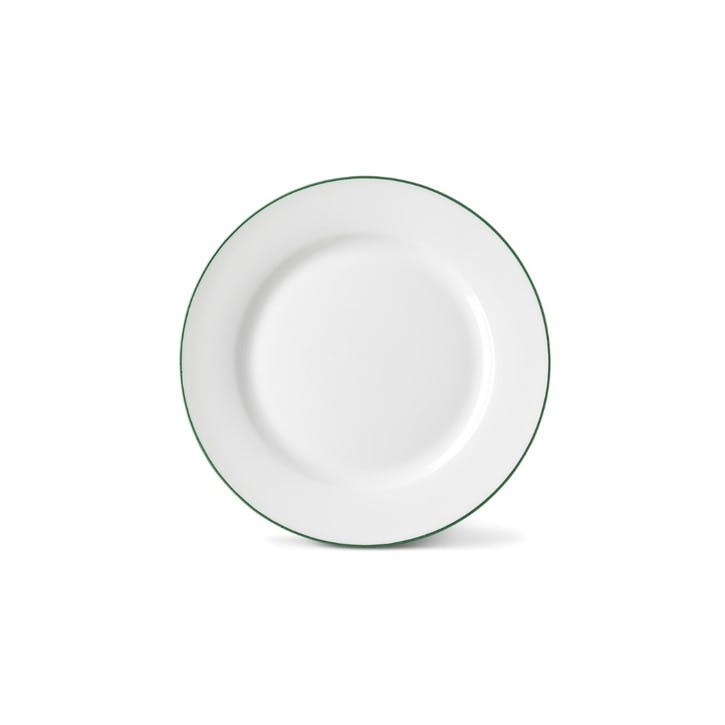Rainbow Side Plate, Jungle Green