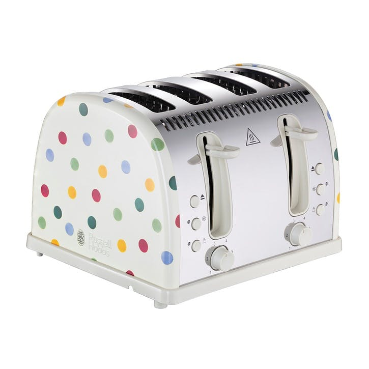 Polka Dot Toaster, 4-Slice
