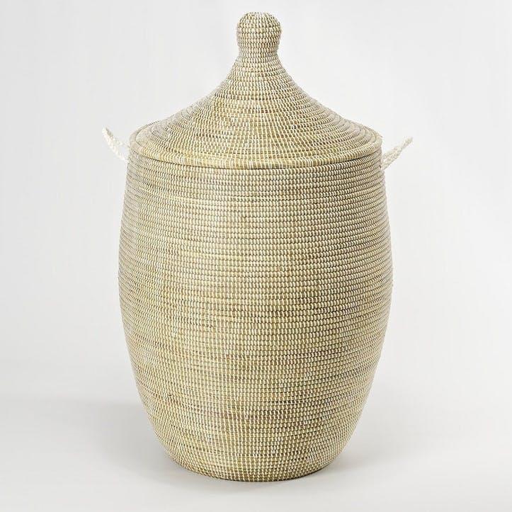 Ali Baba Laundry Basket, Medium, Natural