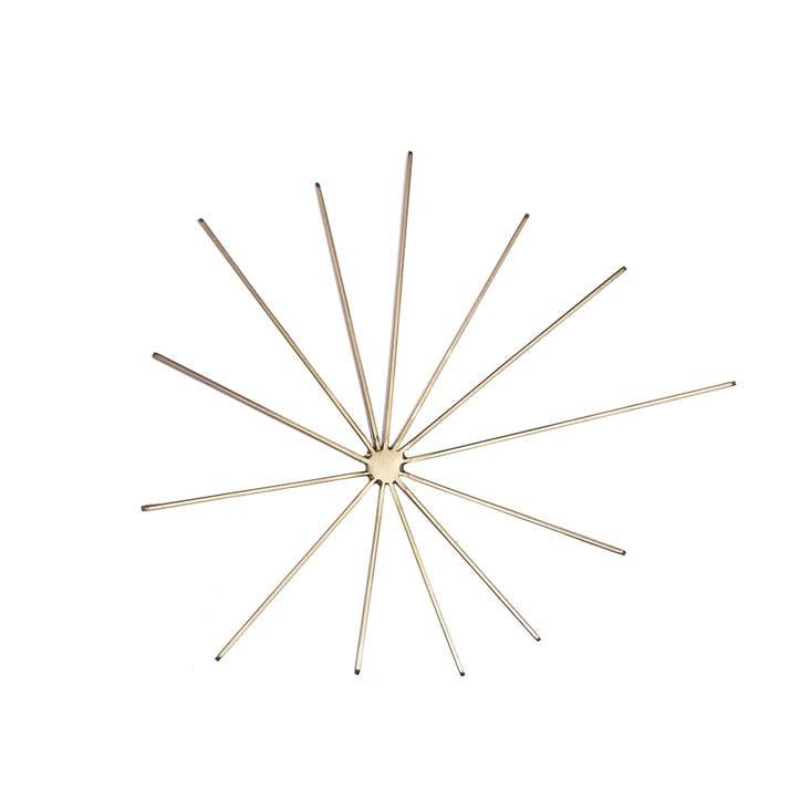 Brass Starburst Trivet