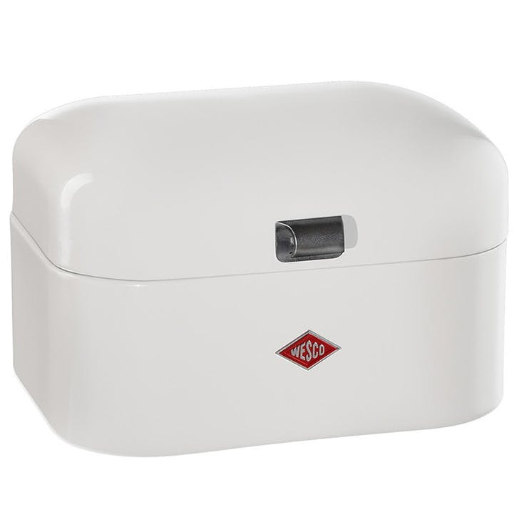 Single Grandy Bread Bin, White