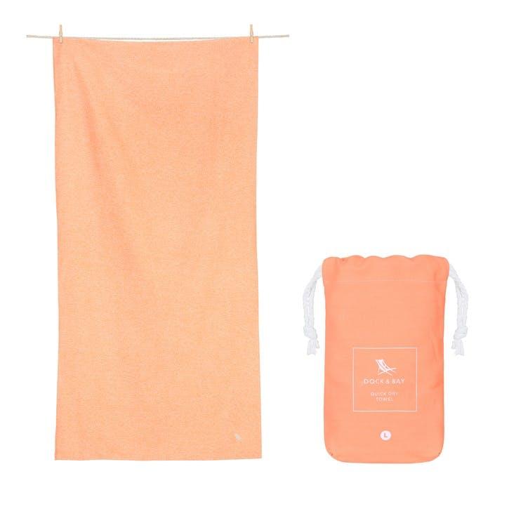 Active Yoga Towel; Dune Orange; Large