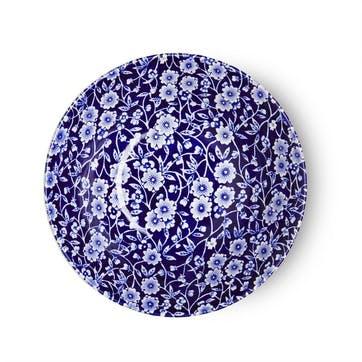 Calico Cereal Bowl, 16cm, Blue