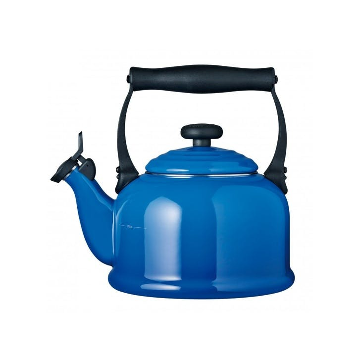 Traditional Stove Top Kettle; Marseille Blue