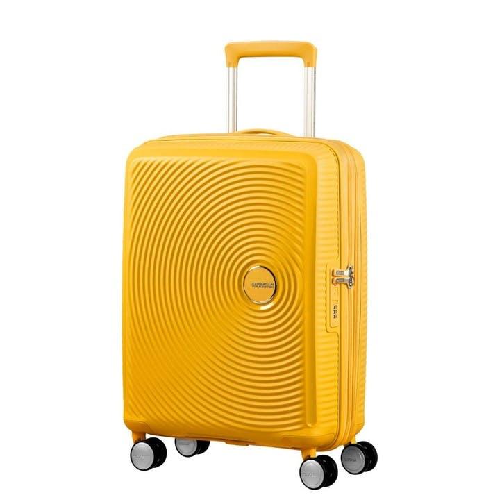 Soundbox Spinner Suitcase, 55cm, Golden Yellow