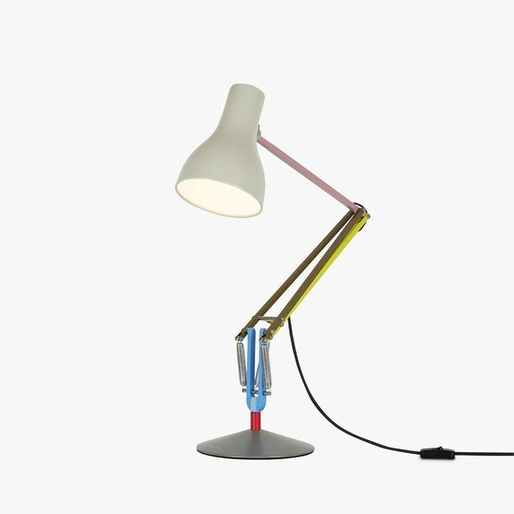 Type 75 Paul Smith Edition 1 Desk Lamp, Multicolours and Cream