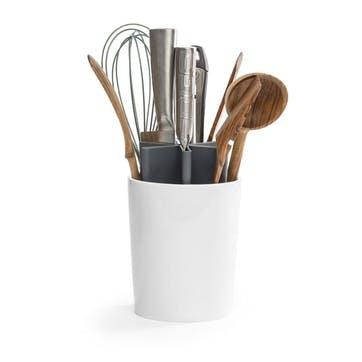 Kitchen Organiser, Shiny White/Grey