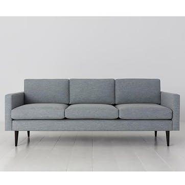3 Seater Sofa, Model 01, Seaglass