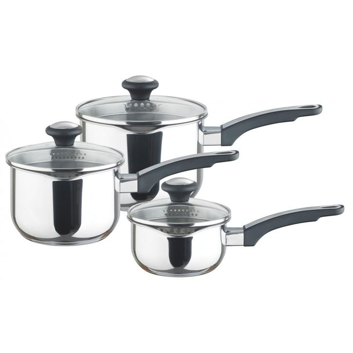 Everyday Stainless Steel Straining 3 Piece set